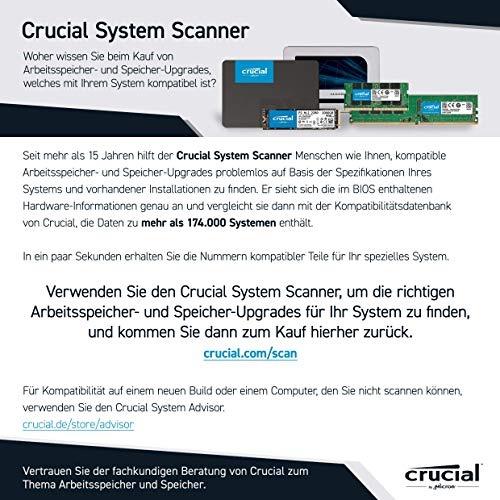 Crucial MX500 CT500MX500SSD1Z 500GB 3D NAND AES SATA 2,5